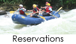 Go rafting near Manuel Antonio Costa Rica on the Savegre River